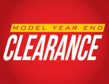 2019 Model Year End Clearance